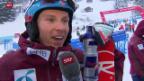 Video «Kristoffersen gewinnt den Männer-Slalom in Wengen» abspielen