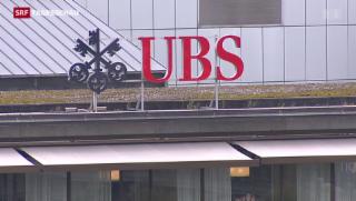 Video «UBS dank Steuergutschriften im Plus» abspielen