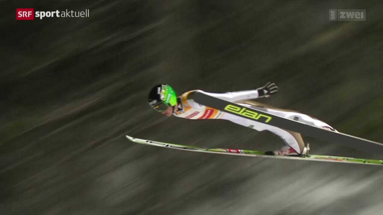Skispringen: Weltcup in Trondheim