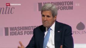 Video «Scharfe Töne im Syrien-Konflikt» abspielen