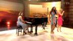 Video «Eliane Müller, Franziska Wigger und Fabienne Louves mit «Heaven»» abspielen