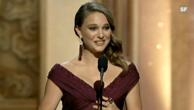 Video «Dankesrede Natalie Portman (englisch)» abspielen