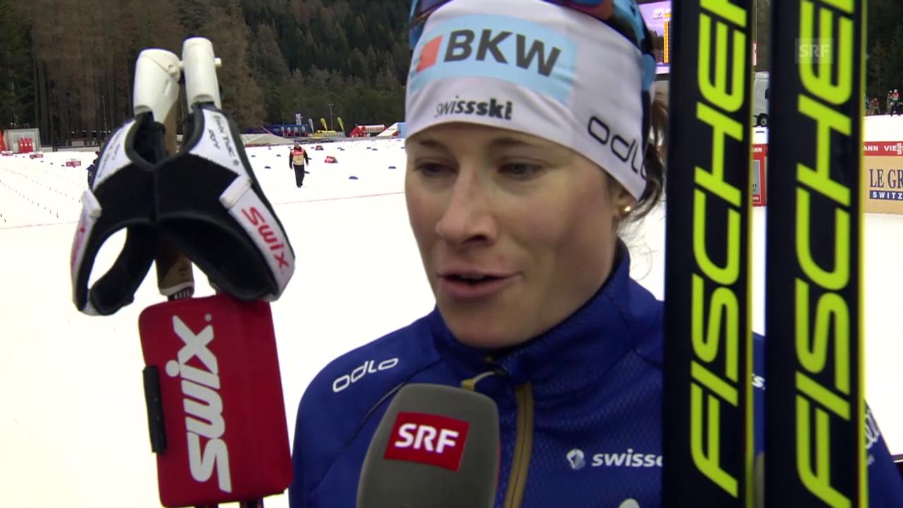Langlauf: Tour de Ski, Interview mit Seraina Boner