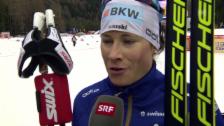 Video «Langlauf: Tour de Ski, Interview mit Seraina Boner» abspielen