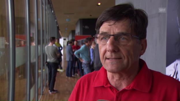 Video «Peter Haas über Adrian Lehmanns Olympiachance» abspielen