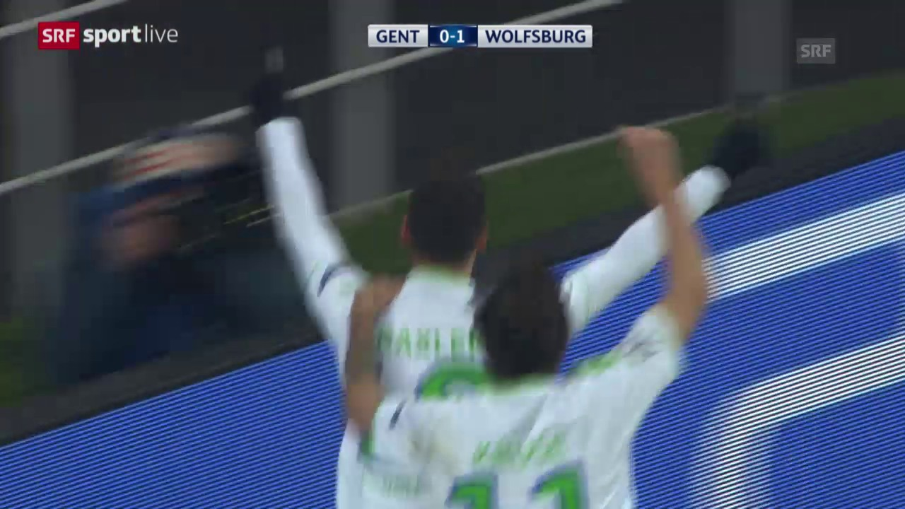 Wolfsburg siegt bei Gent
