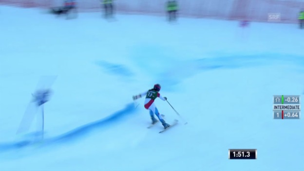 Video «Ski: Riesenslalom Frauen in Lienz («sportlive», 28.12.2013)» abspielen