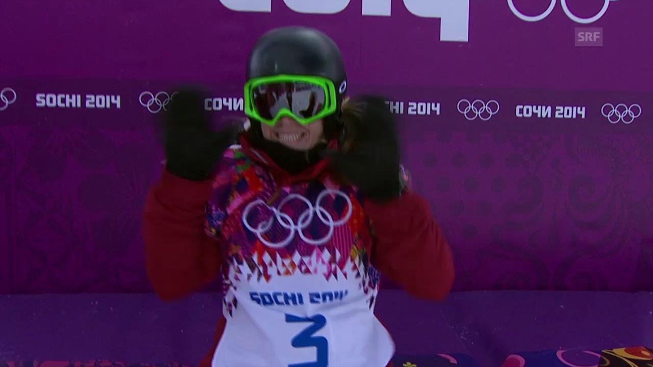 Snowboard: Halfpipe Frauen, Qualifikation