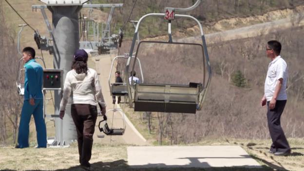 Video «Schweizer Vibes in Nordkorea» abspielen