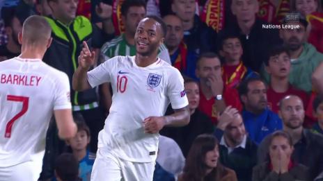 Link öffnet eine Lightbox. Video England bodigt Spanien in Spektakel-Spiel abspielen