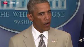Video «Obama hat noch keine Strategie » abspielen