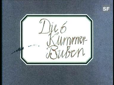 «Die 6 Kummerbuben», 1967 (Filmausschnitt)
