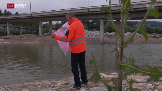 Video «Hochwasserschutz-Mittel fehlen» abspielen