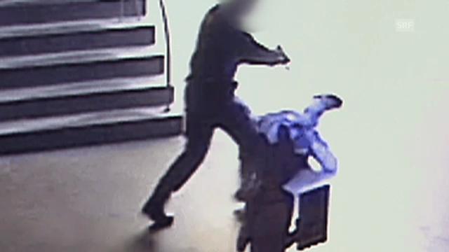 Ausschnitt aus dem Überwachungsvideo