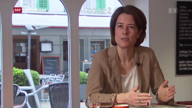 Video «Petra Gössi im Porträt» abspielen