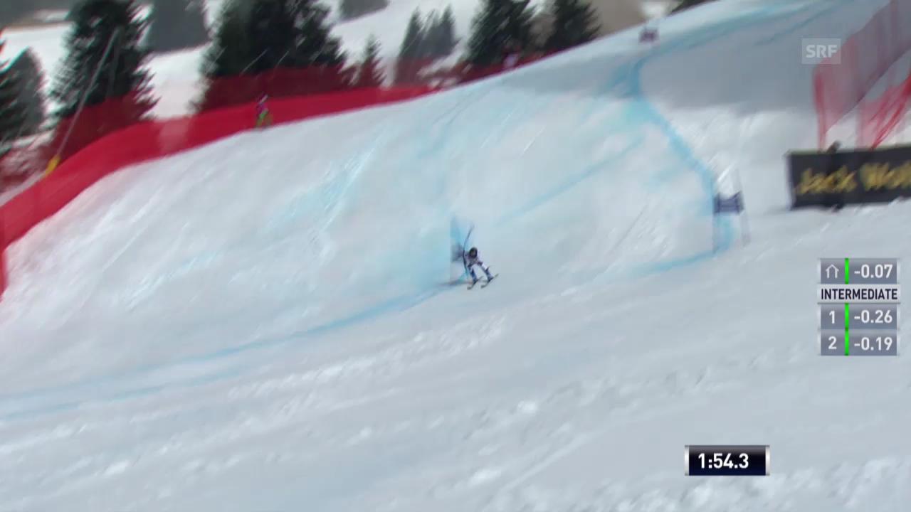 Ski Alpin: Riesenslalom auf der Lenzerheide, Der 2. Lauf von Lara Gut («sportlive», 16.03.2014)