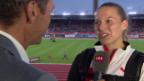 Video «Angelica Moser: «Kann's noch nicht glauben»» abspielen