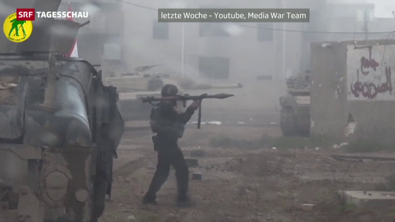 Offensive gegen den IS