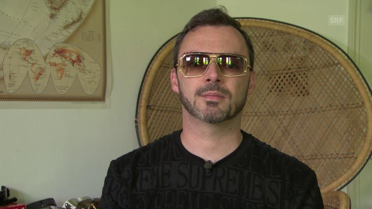 Rapper Greis: Er sammelt Sonnenbrillen