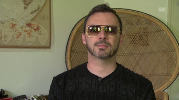 Video «Rapper Greis: Er sammelt Sonnenbrillen» abspielen