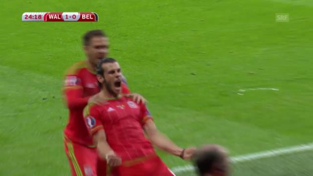 Video «Fussball: EM-Quali, Wales-Belgien» abspielen