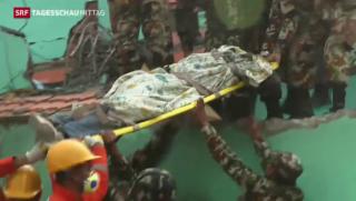 Video «Erdbeben in Nepal» abspielen
