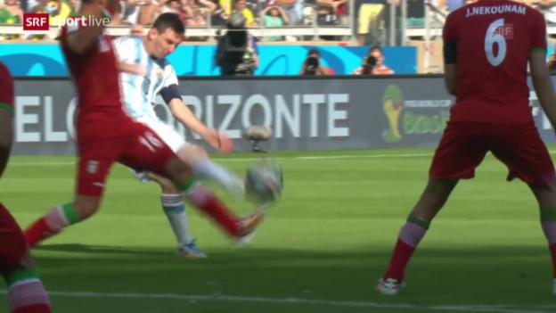 Video «Spielbericht Argentinien - Iran» abspielen