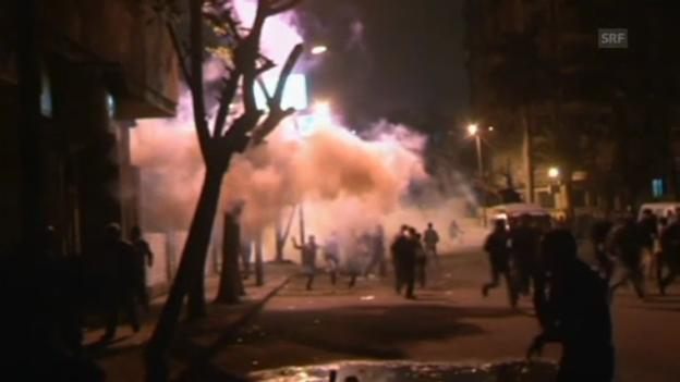 Video «Proteste in Kairo» abspielen
