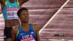 Video «Francis überrascht über 400 m» abspielen