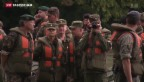 Video «Umstrittene russische Inspektion der Schweizer Armee» abspielen