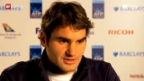 Video «Roger Federers Sieg an den ATP World Tour Finals» abspielen
