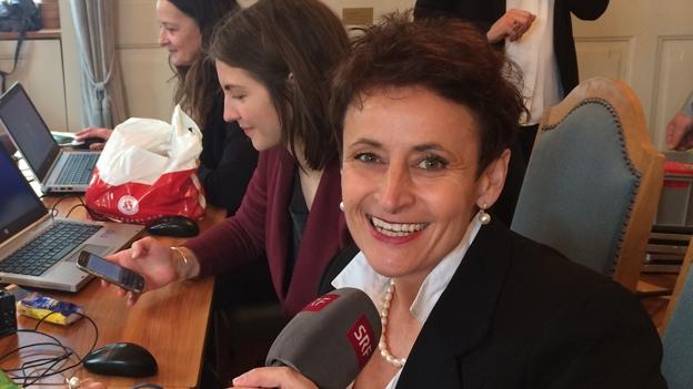 SRF-Redaktorin Karin Portmann zur Urner Regierungswahl