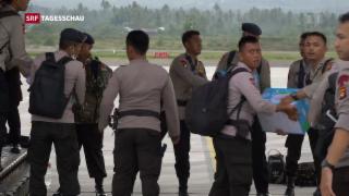 Video «Reportage aus dem zerstörten Palu» abspielen