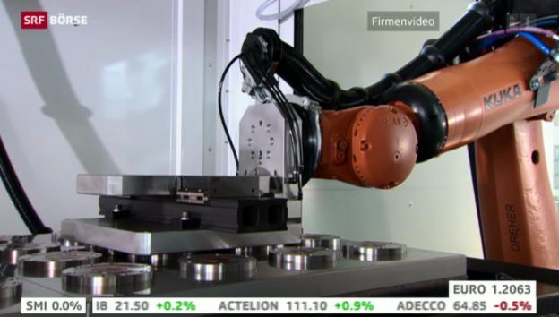 Video «SRF Börse vom 26.09.2014» abspielen