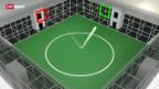 Video «Fussball: Die clevere Ballmaschine» abspielen