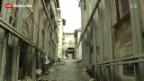 Video «L' Aquilas langsamer Aufbau» abspielen