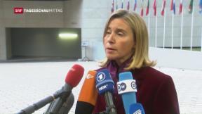 Video «EU sieht noch keine Sanktionen gegen Russland vor» abspielen