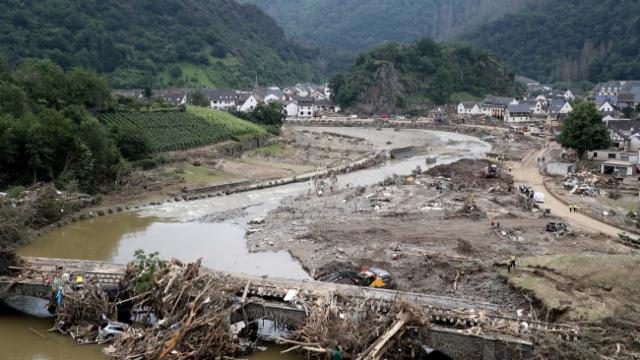 Aus dem Archiv: Die Dörfer an der Ahr hat es schwer getroffen