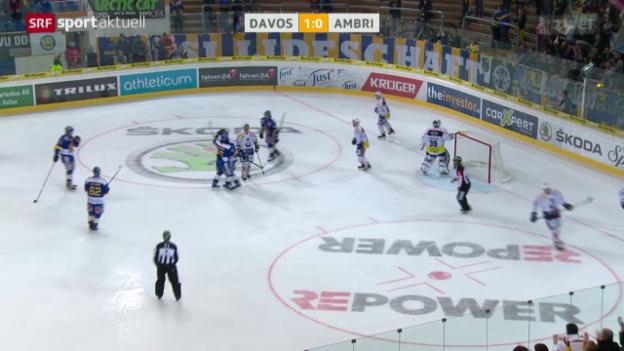 Video «Eishockey: Davos - Ambri» abspielen