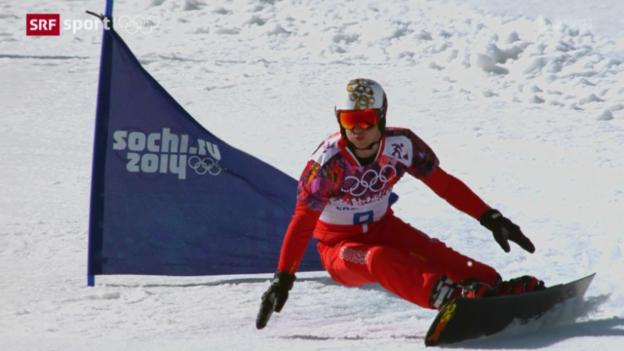 Video «Snowboard: Parallel-Slalom der Männer» abspielen