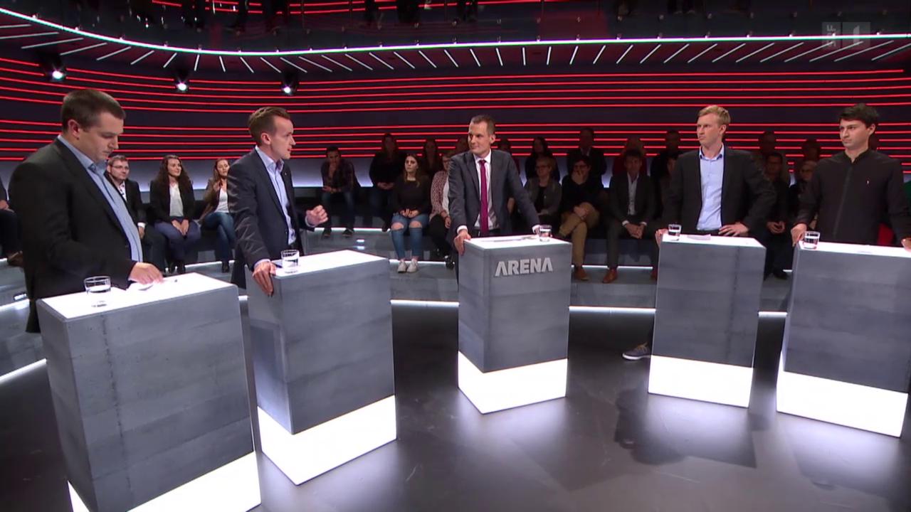 «Wahl-Arena»: Die Jungparteien zu den Minderheiten
