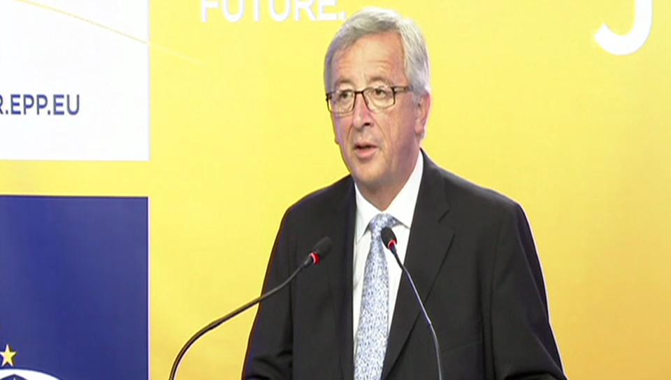 Juncker will Kommissionspräsidenten werden (französisch)