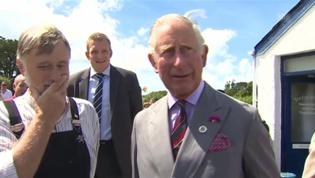 Video «Charles über das Wales Spiel» abspielen
