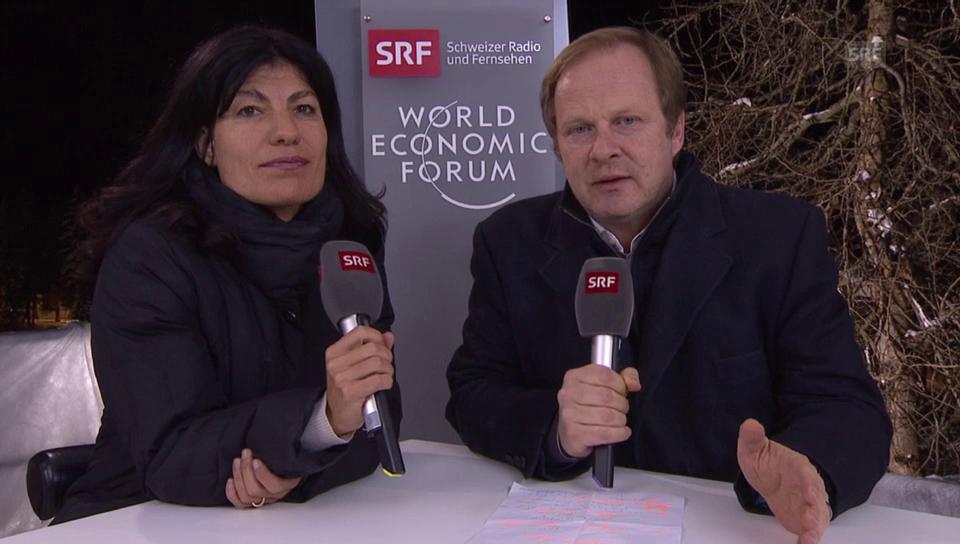 Das bringt der Freitag in Davos