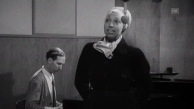 Video «Josephine Baker singt 1951 in Zürich» abspielen