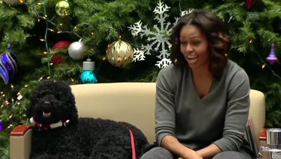 Michelle Obama verrät ihr Weihnachtsgeschenk für Barack Obama