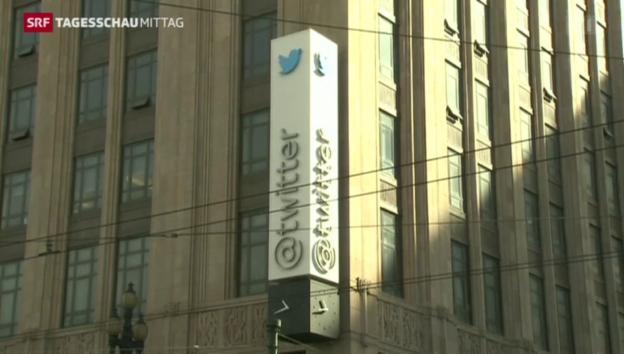 Video «Der CEO von Twitter tritt zurück» abspielen