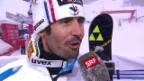 Video «Ski-WM Vail/Beaver Creek, SL Männer, Interview Jean-Baptiste Grange» abspielen