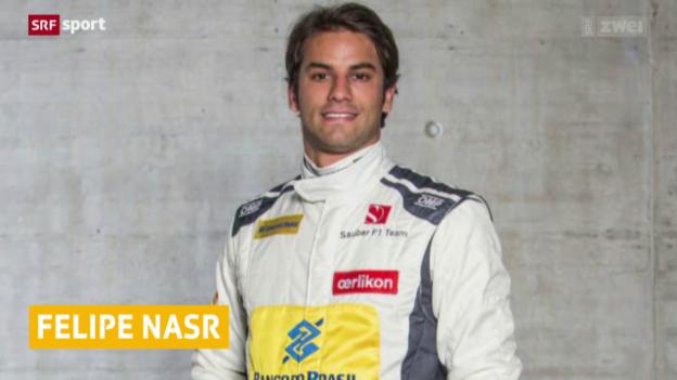 Video «Formel 1: Nasr fährt in Jerez Bestzeit» abspielen