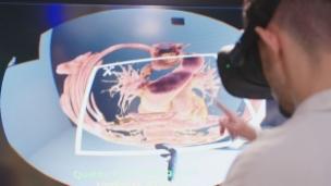 Video «Medizinstudenten sezieren Leichen virtuell» abspielen